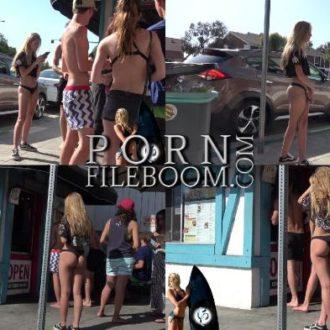 Hottest Bikini Teen Ever!  [2017, Voyeur, Bikini, Teen, Candid, Nice Asses, Spycam, 1080p, CamRip]
