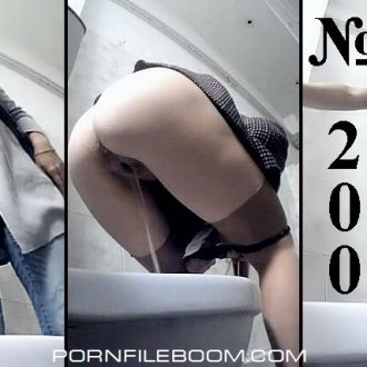 Pisswc.com  Hidden camera in the women's restroom – #200  2016, Peeing, Voyeur, CamRip