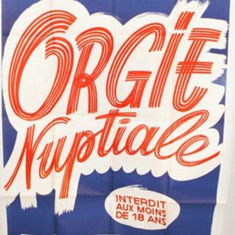 Orgie nuptiale  (Daniel Daërt (Mac Coye))  1982, Classic, VHSRip